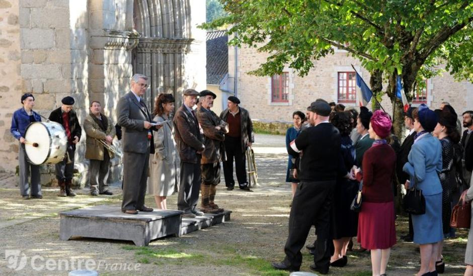 tournage un village français